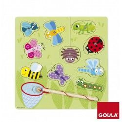 PUZZLE MADERA MAGNETIC BUGS GOULA