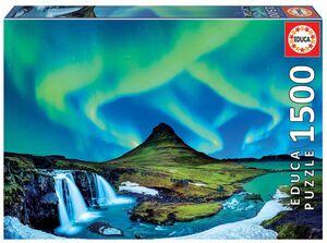 PUZZLE 1500 AURORA BOREAL, ISLANDIA EDUCA