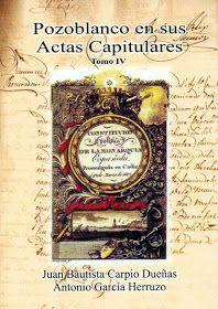 POZOBLANCO EN SUS ACTAS CAPITULARES IV