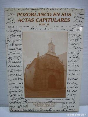 POZOBLANCO EN SUS ACTAS CAPITULARES II